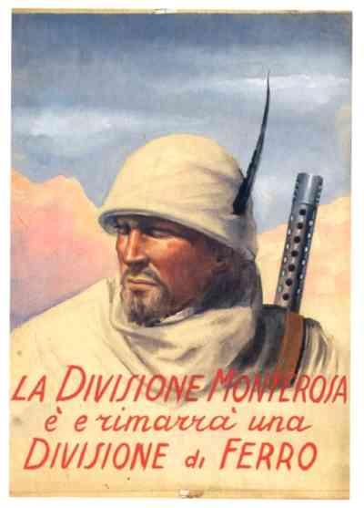 Manifesto di propaganda della Divione Monterosa