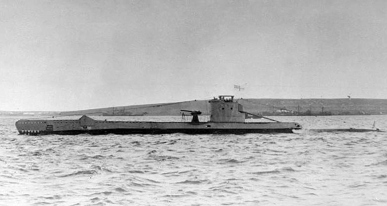 Il sommergibile inglese Urge