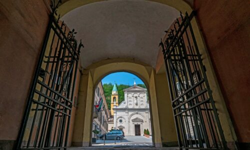vista da Palazzo Grillo